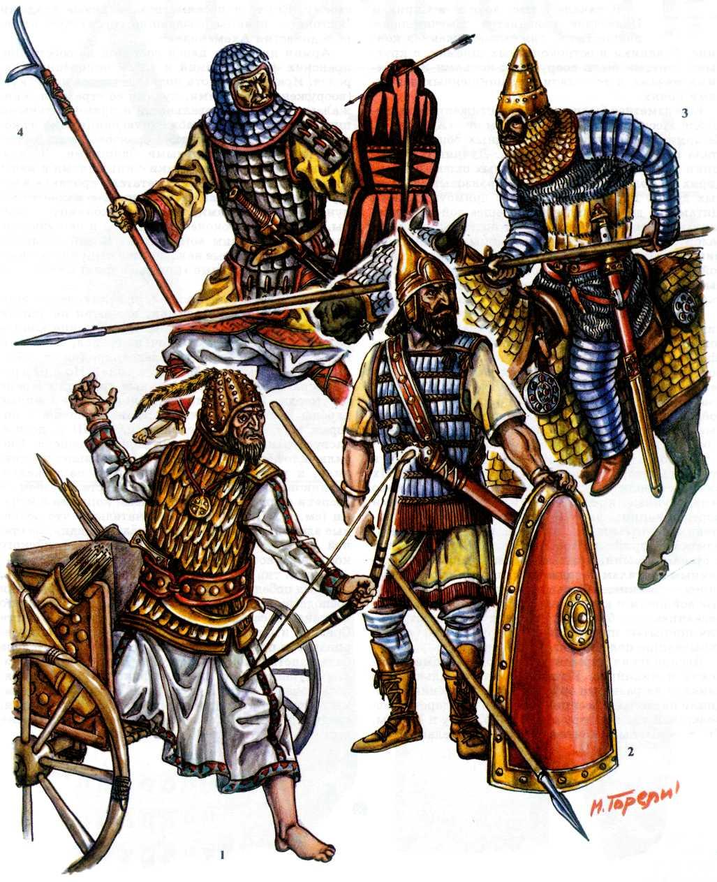 Военное дело древнего востока