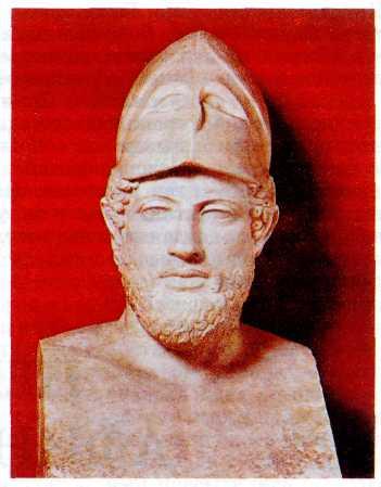 Древнегреческий стратег перикл