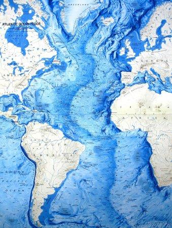 Атлантида в Атлантическом океане