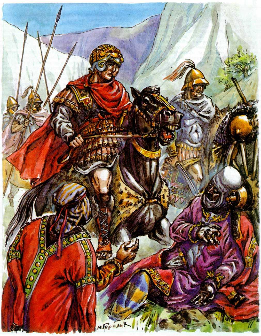Александр Македонский и Дарий: битва при Гавгамелах