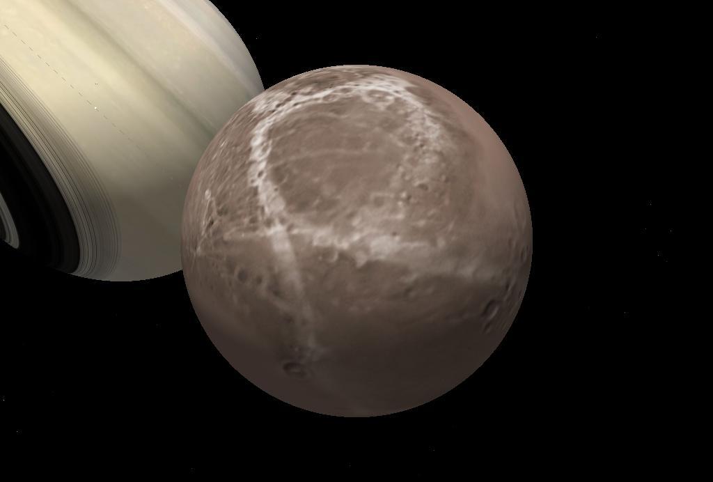 Титан спутник сатурна фото