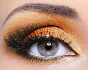 Дневной макияж для голубоглазых